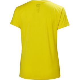 Helly Hansen Skog Graphic - T-shirt manches courtes Femme - jaune